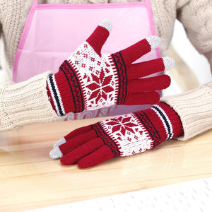Knitted Screen Gloves Men Women Gloves