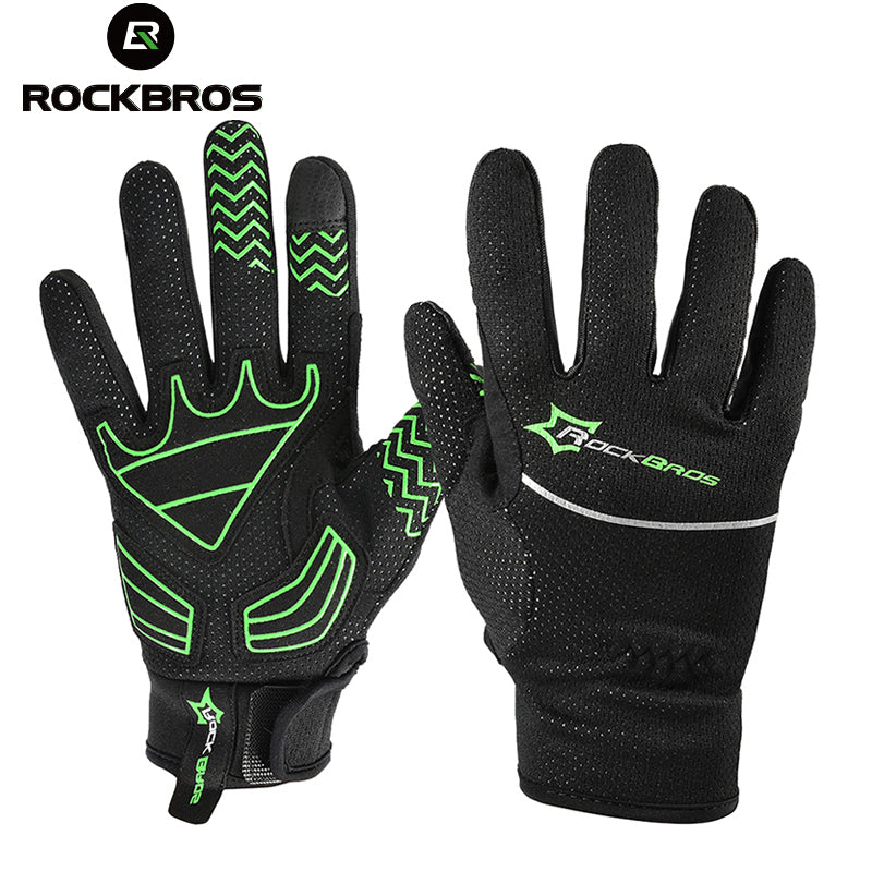 ROCKBROS Winter Thermal Touch Screen Outdoor Sports Full Finger