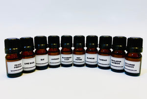 10 Diffuser/ Candle Scents Sample