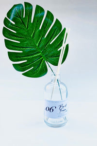 Green Leaf Cork Top Dark Reed Diffuser