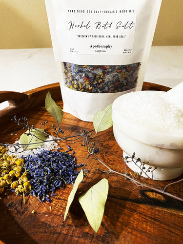 Herbal Bath Soak Salt