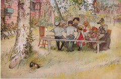 Breakfast Under the Birch by Carl Larsson