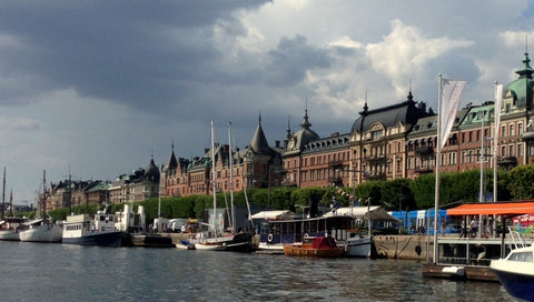 Stockholm Sweden, an ancient city full of color and art