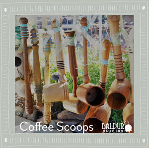 Coffee Scoops, small