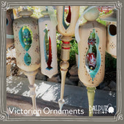 Hollow Victorian Ornaments