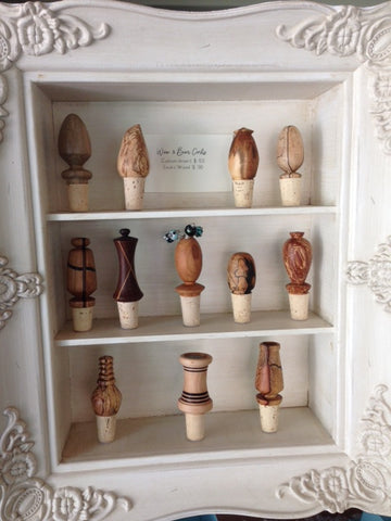 Wine Corks, exotic wood