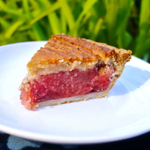 Hawaiian Strawberry Guava Pie