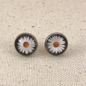 Daisy Earrings - Stainless Steel