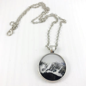 Snowy Mountains Necklace