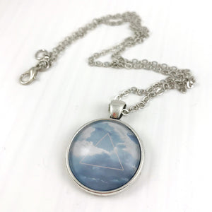 Triangle Sky Necklace
