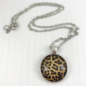 Leopard Print Necklace