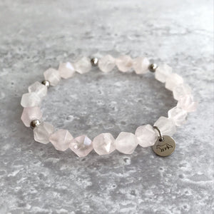 Rose Quartz Bracelet - 8mm
