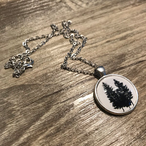 Three Trees Necklace