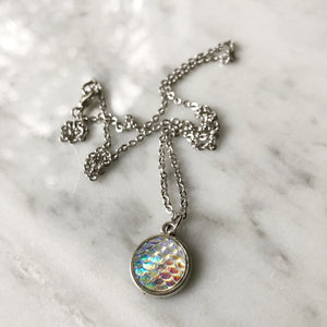 Clear Mermaid Necklace