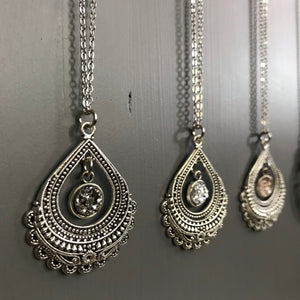 Vintage Teardrop Necklace