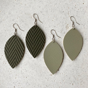 Leaf Earrings - Saje
