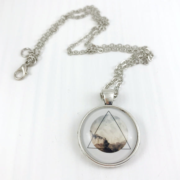 Triangle Desert Mountains Necklace