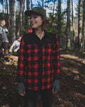 Ladies Thermal Plaid Jacket
