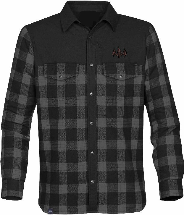 Mens Plaid Thermal Jacket