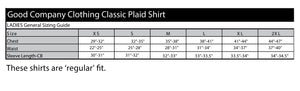 Ladies Classic Plaid Snap Front Shirt