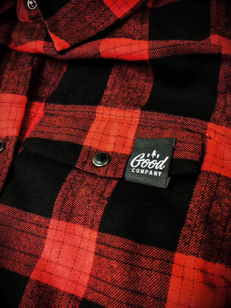 Good Company Clothing Ladies Plaid Shirt