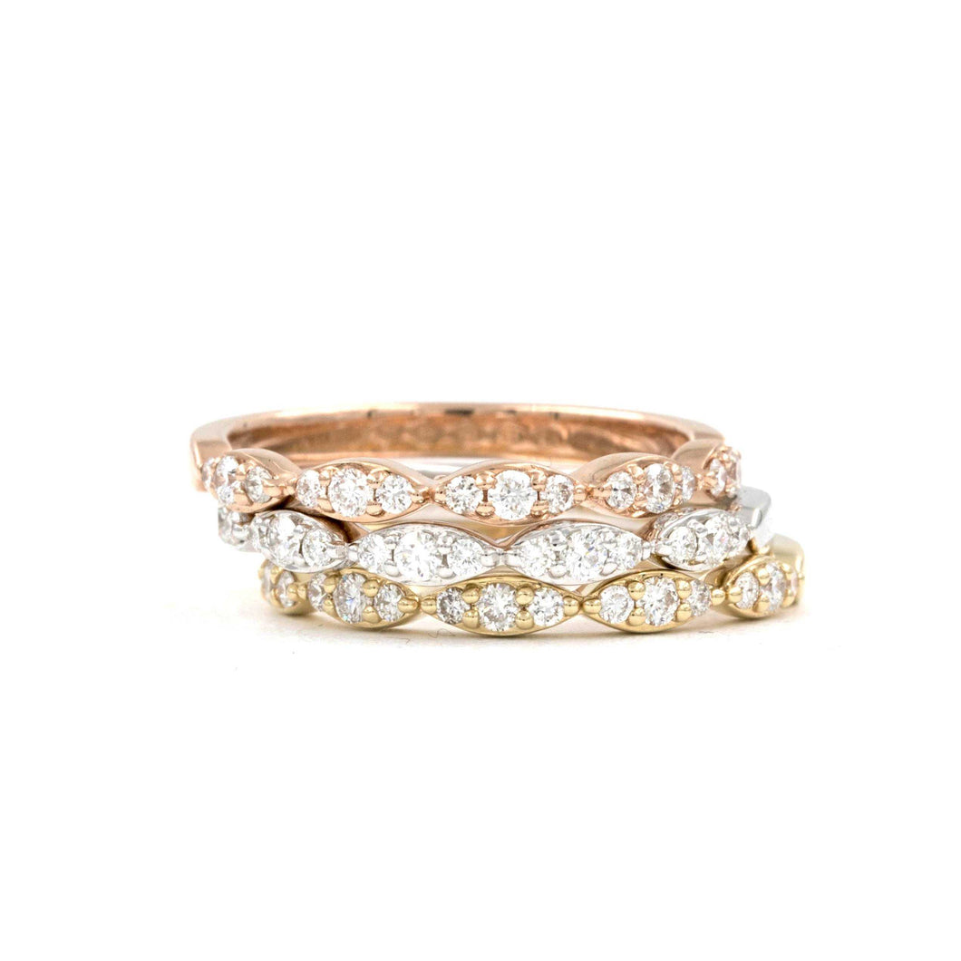 Stackable Diamond Band | Blacy's Vault