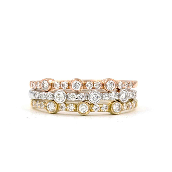 Stackable Diamond Bands | Blacy's Fine Jewelers