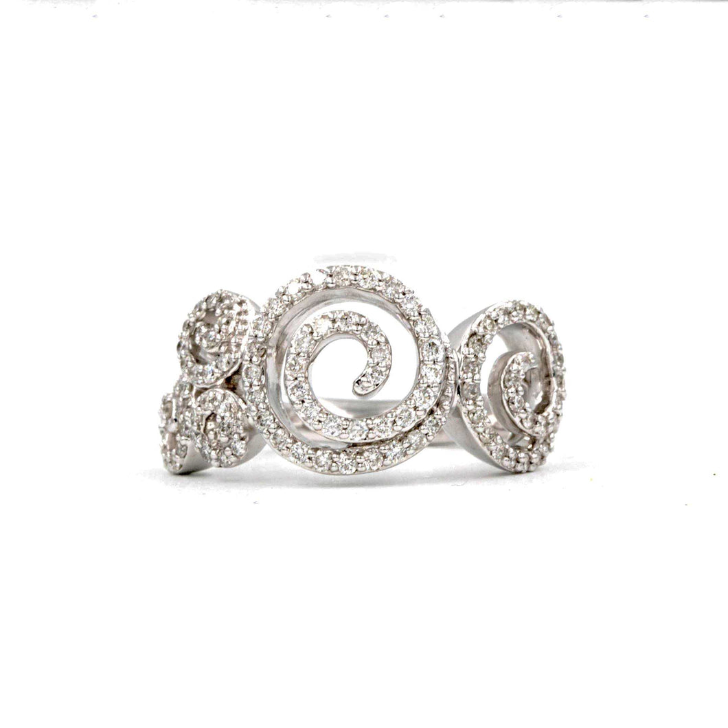Swirl Right Hand Ring | Blacy's Fine Jewelers