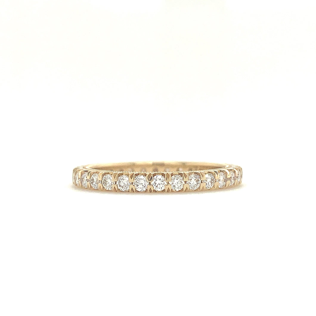 Christopher Designs Diamond Eternity Band, made with 14K Y.G. with Round Brilliant Diamonds 0.78tw | Blacy's Fine Jewelers