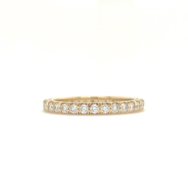 Christopher Designs Diamond Eternity Band 14K Yellow Gold Round Brilliant Diamonds 0.78 ctw | Blacy's Fine Jewelers