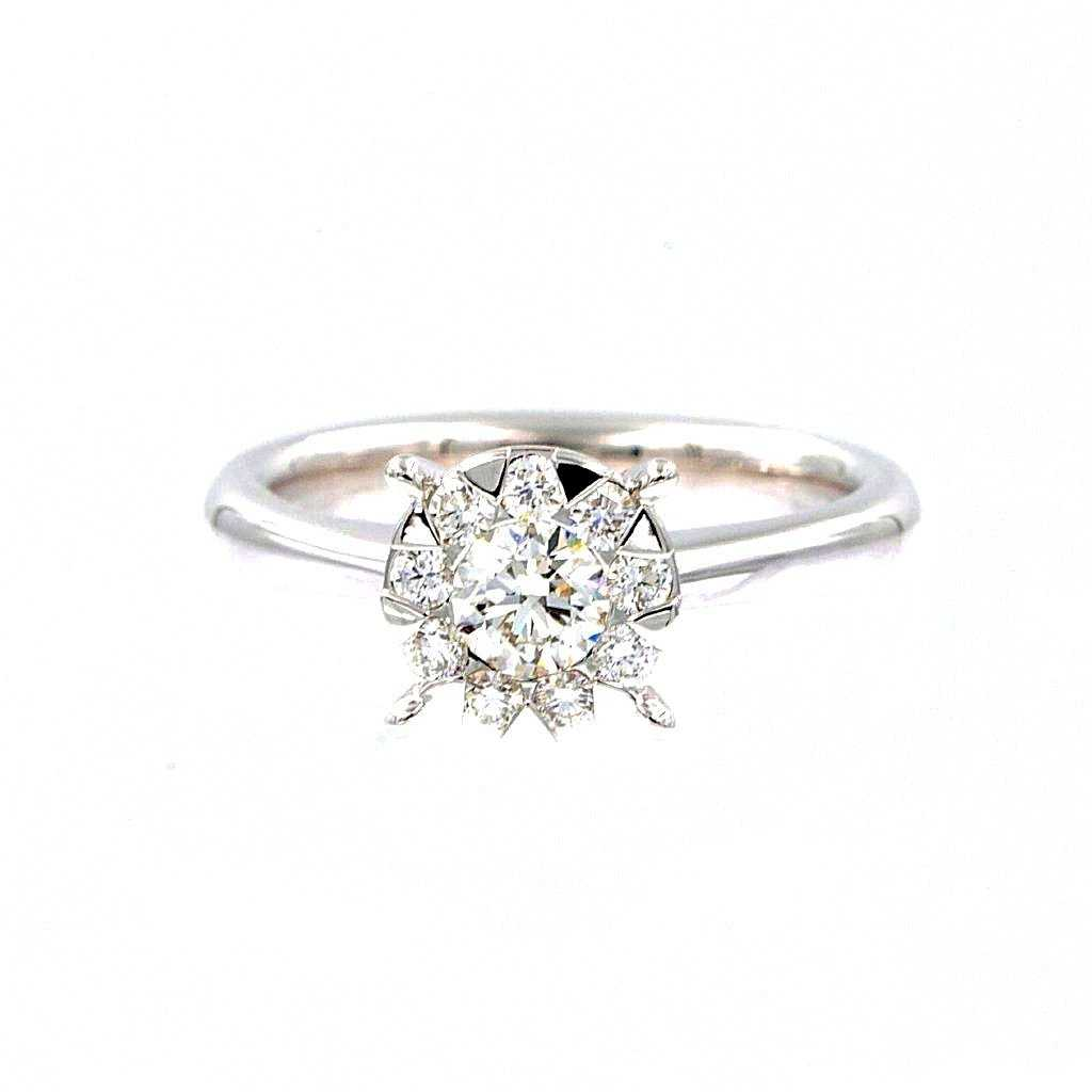 Memoire Bouquets Collection Diamond Ring | Blacy's Fine Jewelers