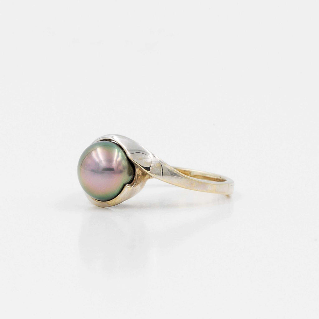 Tahitian Black Pearl Ring | Blacy's Fine Jewelers