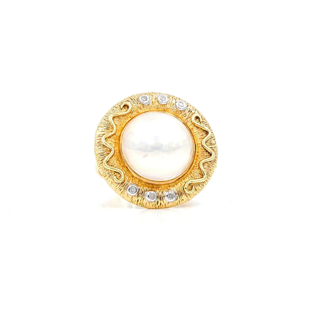 Mabe Pearl Ring | Blacy's Fine Jewelers