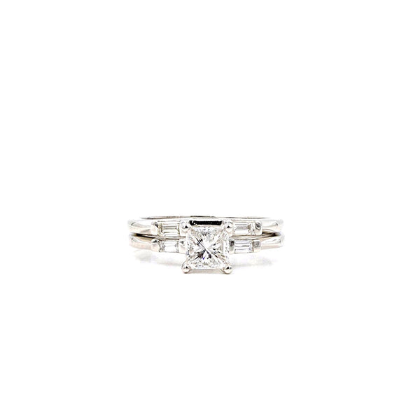 Platinum Diamond Engagement Ring | Blacy's Fine Jewelers
