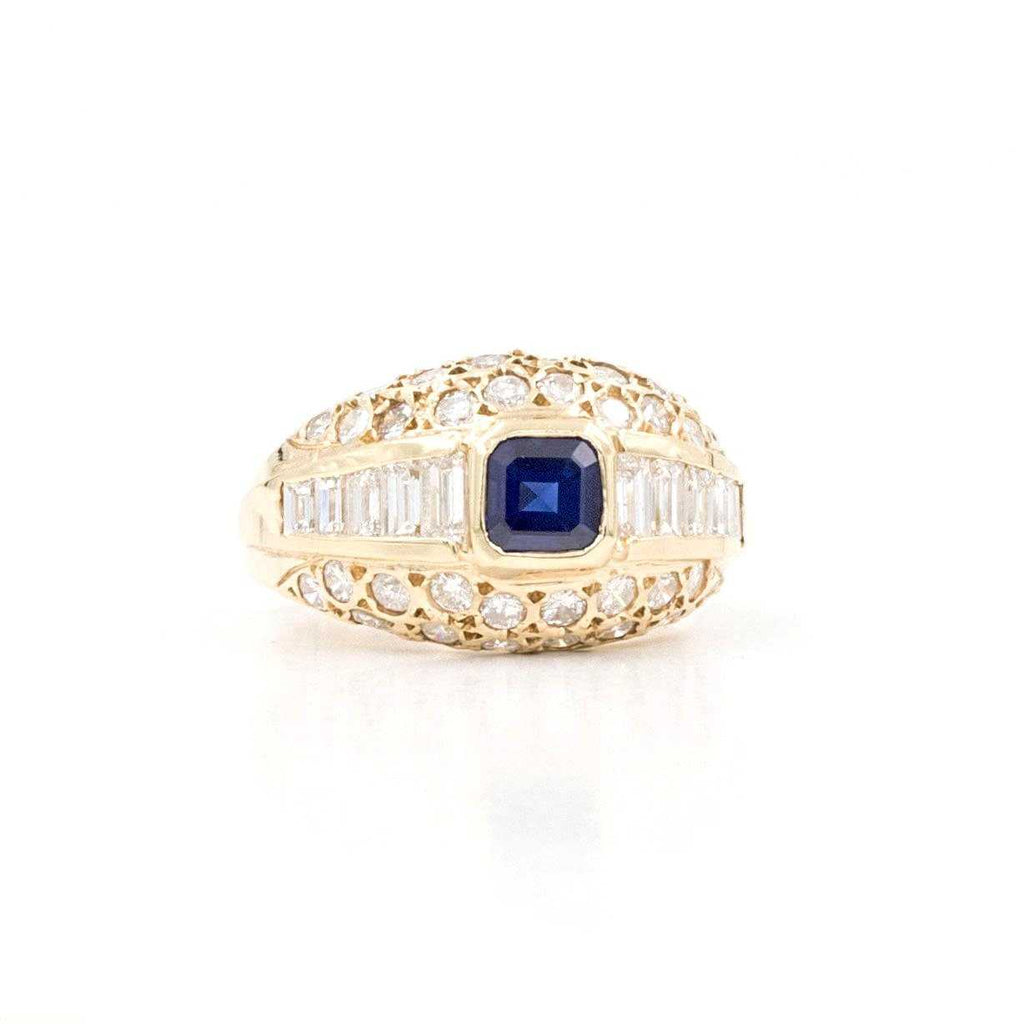 Sapphire and Diamonds Ring | Blacy's Fine Jewelers
