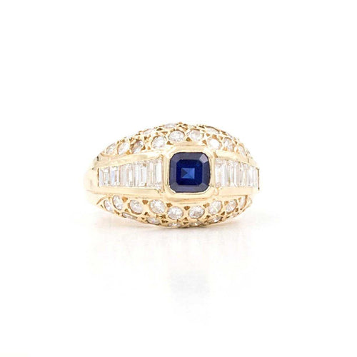 Sapphire And Diamond Band | Blacy's Vault