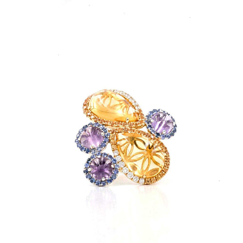 Yellow Citrine Ring | Blacy's Fine Jewelers