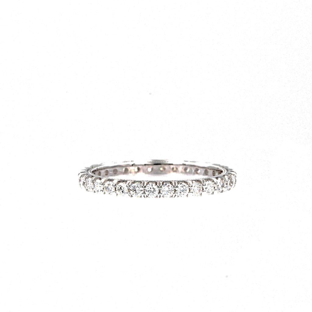 Christopher Designs White Gold Diamond Eternity 0.75ctw on 18K White Gold | Blacy's Fine Jewelers