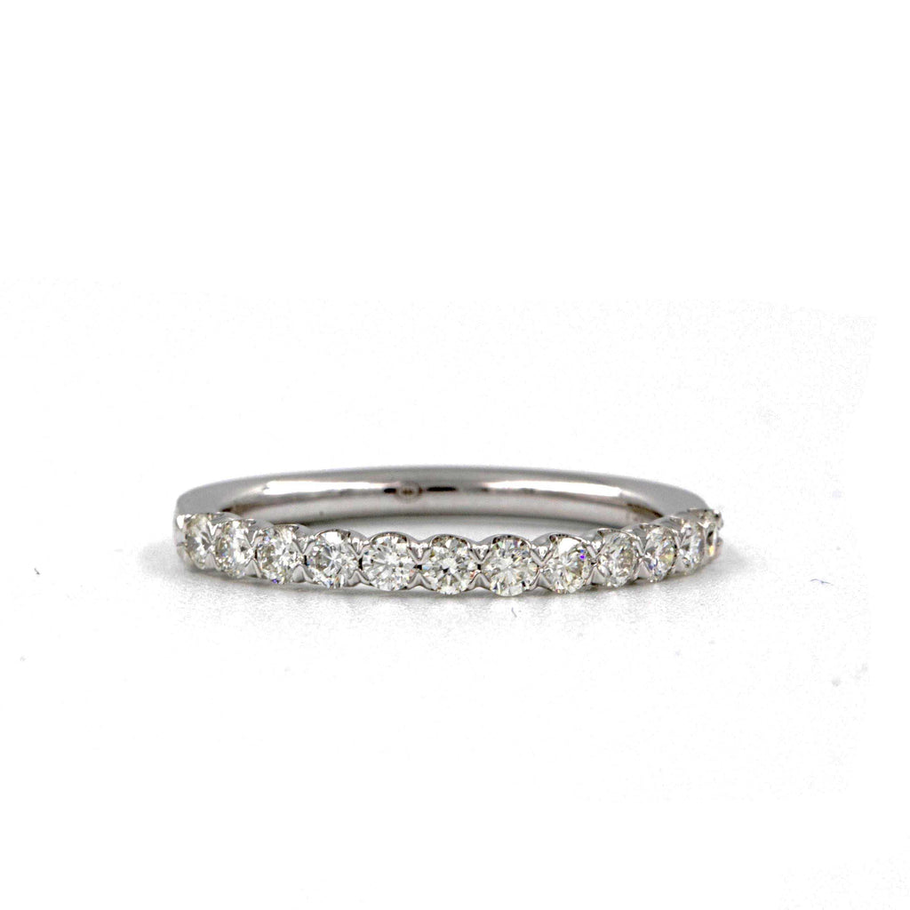 Christopher Designs Wedding Band/ Stackable Band, 18K White Gold, 0.50ctw of Diamonds | Blacy's Fine Jewelers