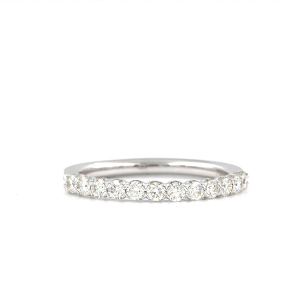 0.43ctw Christopher Designs Wedding Band, 18K White Gold | Blacy's Fine Jewelers
