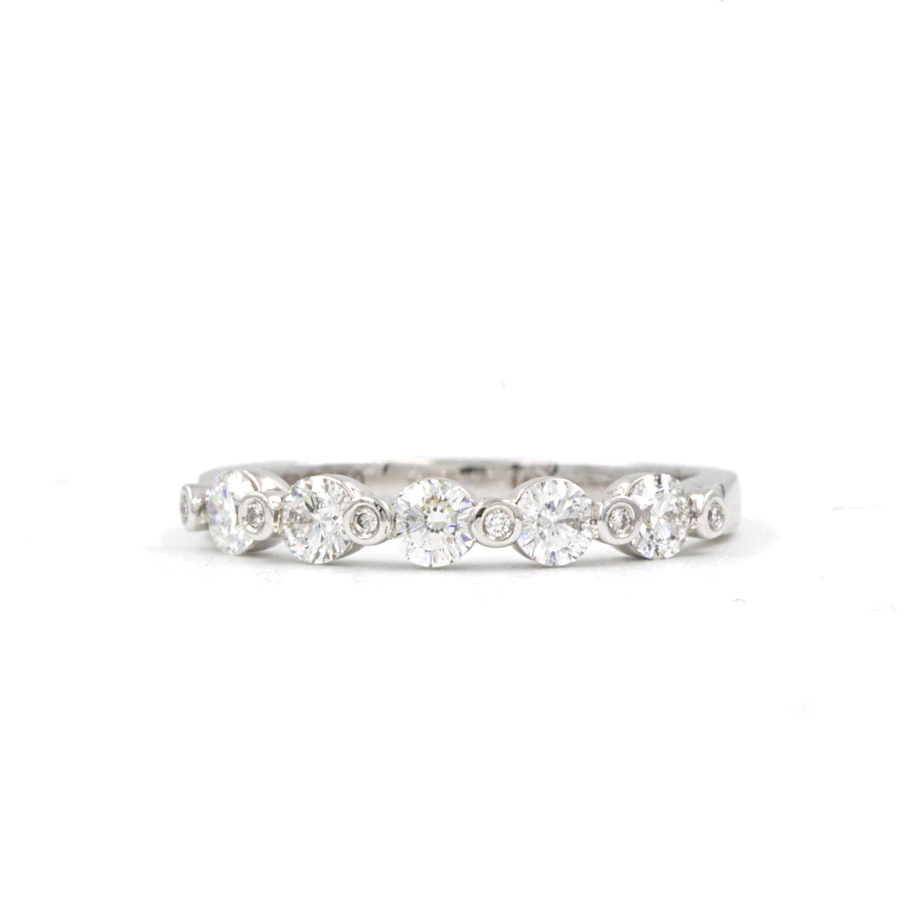 0.57 t.w. Christopher Designs Diamond Wedding Band, made with 18K W.G. | Blacy's Fine Jewelers