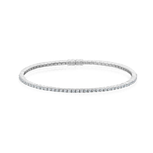 A.Link Classic 4 Prong Diamond Tennis Bracelet | Blacy's Vault