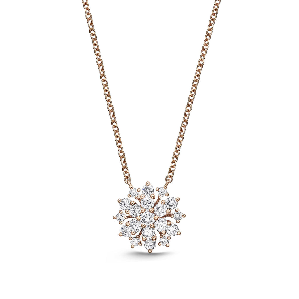Memoire Classics Snowflake Diamond Necklace | Blacy's Fine Jewelers