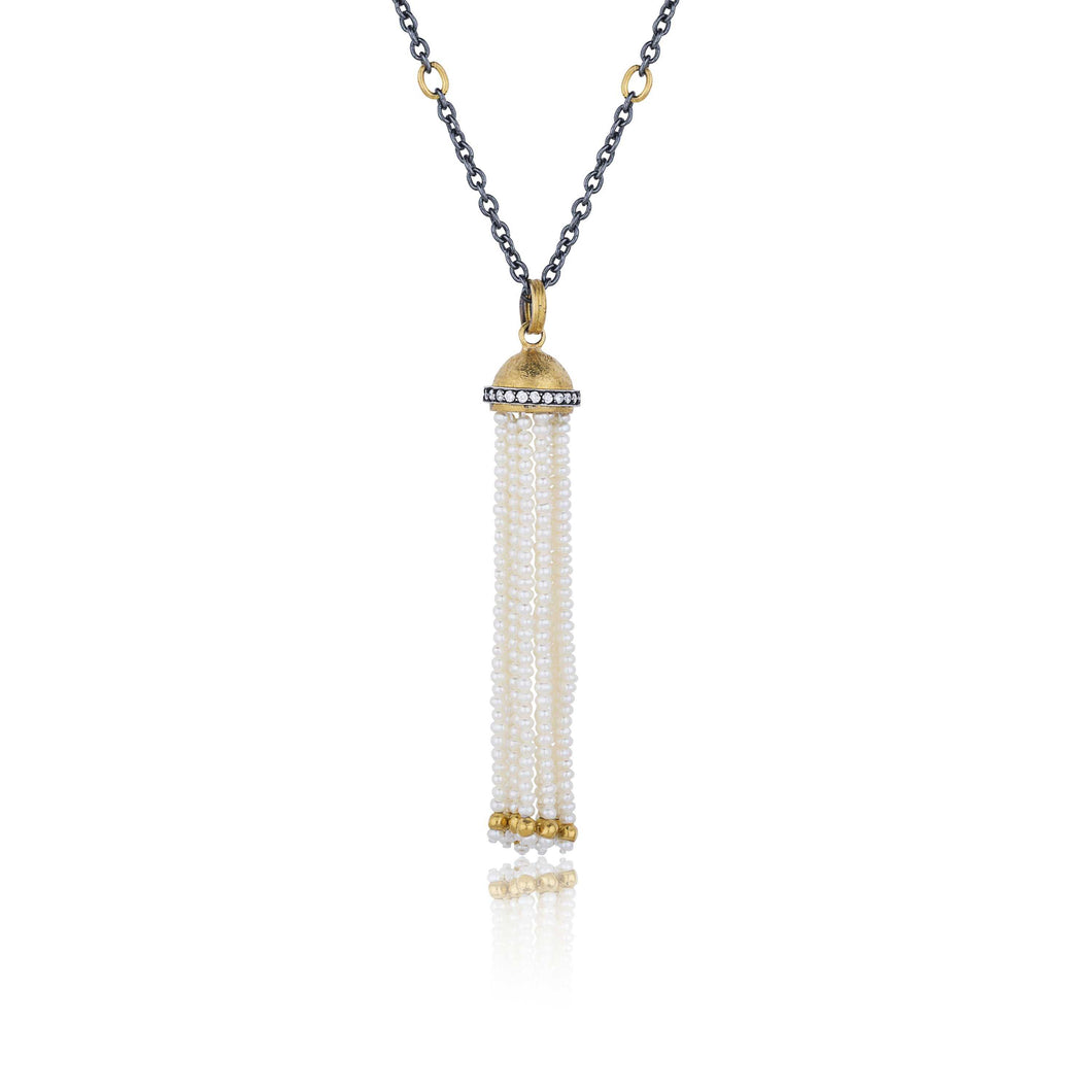 Lika Behar Domus Tassel Necklace