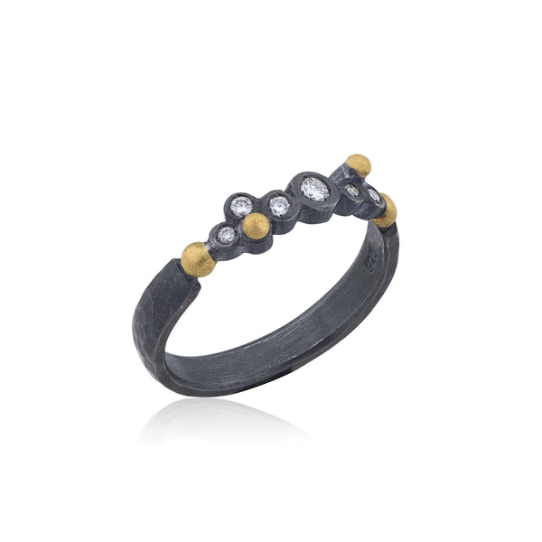 Lika Behar Dylan Half Band Ring | Blacy's Vault