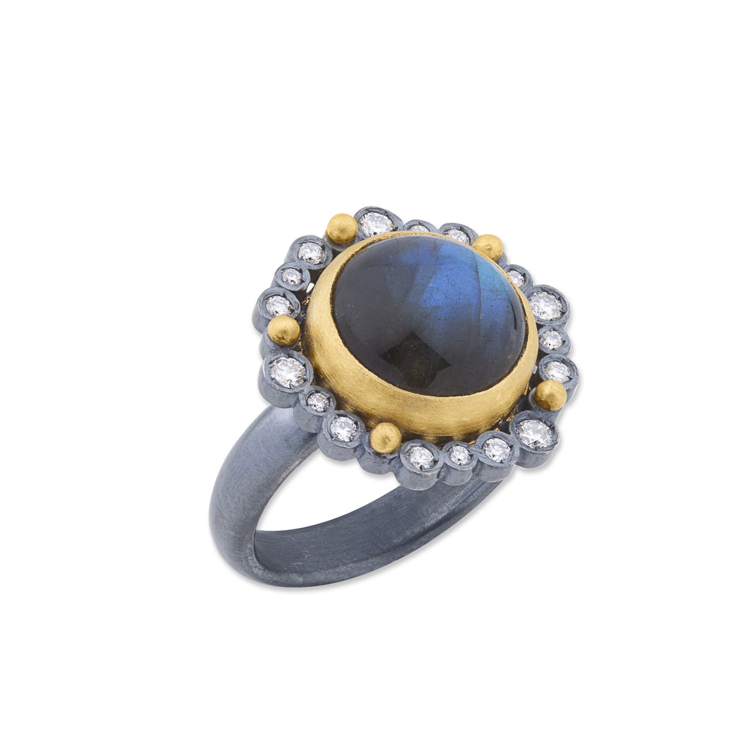 Lika Behar Dylan Ring with Diamonds | Blacy's Vault