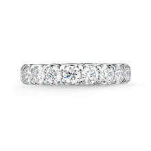 Load image into Gallery viewer, Memoire Odessa Eternity Band Platinum Round Brilliant Diamonds equals to 3.14ctw | Blacy's Vault