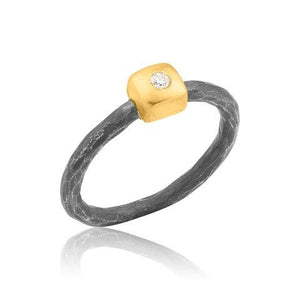 Lika Behar Geom Square Ring | Blacy's Vault