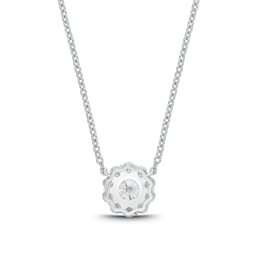 Memoire Blossom Collection Diamond Necklace | Blacy's Fine Jewelers