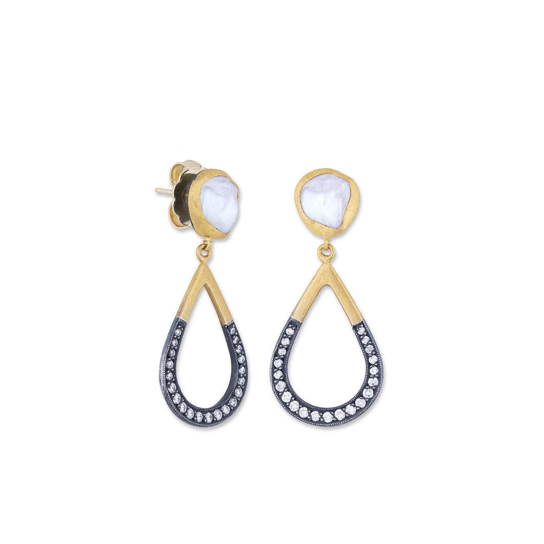 Lika Behar Kashi Pearl Drop Earrings | Blacy's Fine Jewelers